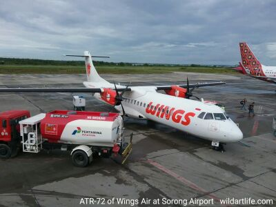 Wings Air operates ATR72-600 passenger planes.